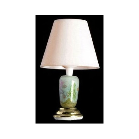 Sea shell table lamp 12v dollhouse miniature lamps for 12v table lamp
