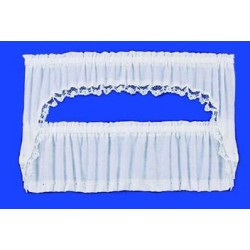 CURTAINS: PICTURE WINDOW CAPE, WHITE