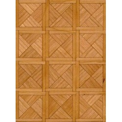 Parquet Flooring Kit: Paris Cherry