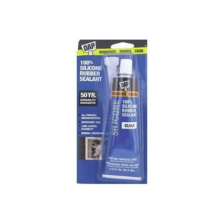 3 OZ SILICONE ADHESIVE-CLEAR