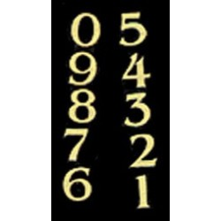 HOUSE NUMBERS 1 SET (0-9)