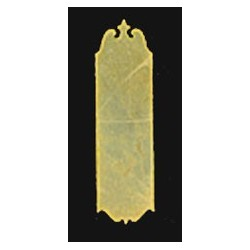 COLONIAL PUSH PLATE 1PC