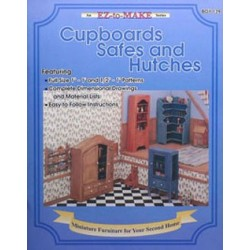 CUPBOARDS, SAFES AND HUTCHES