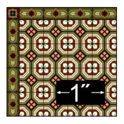 6 pack Wallpaper: Encaustic Tile