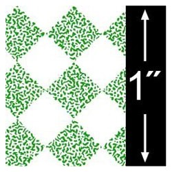 6 pack 1/2 Scale Wallpaper: Tile, Green