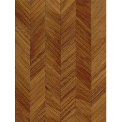 "PARQUET KIT: 1/2"" SCALE LYON WALNUT"