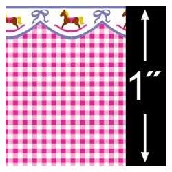 6 pack 1/4 Scale Wallpaper: Hobby Horse