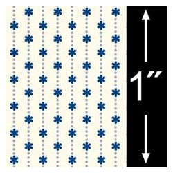 6 pack 1/4 Scale Wallpaper: Ribbon, Midnight