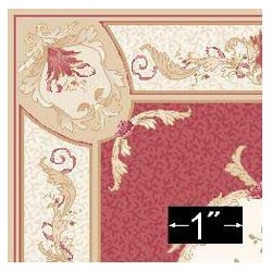 RUG: AUBUSSON RED