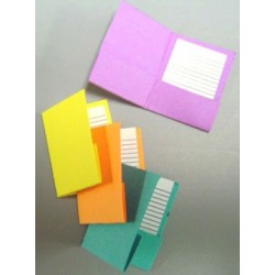 POCKET FOLDERS 4PCS.