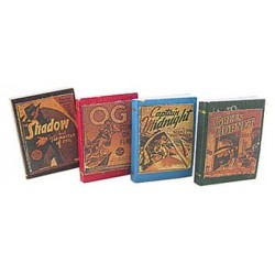 ANTIQUE BOOKS DETECTIVE 4PCS