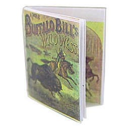 BUFFALO BILL ANTIQUE REPRO READABLE BOOK