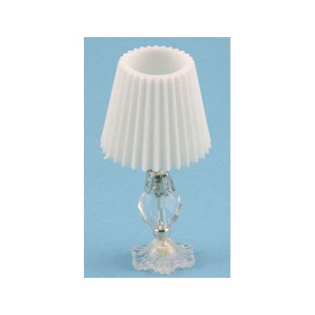 Cut Gl Crystal Simulated Table Lamp Non Electric Dollhouse Miniature Lamps Superior Miniatures