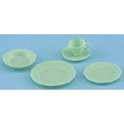PLACE SETTING, 5PC JADITE