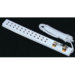 &MH653: POWER STRIP W/ SWITCH & FUSE