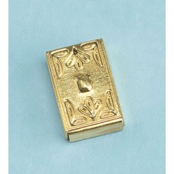BRASS SWITCH PLATE COVER, DECORATIVE
