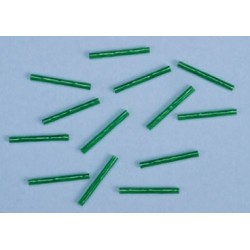 GREEN HEAT SHRINK TUBES ( PKG. OF 12)