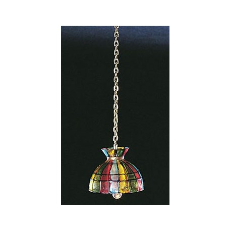 &MH700: BELL TIFFANY HANGING LAMP