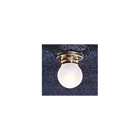 &MH851: CEIL LAMP W/REMOVABLE FR GLOBE