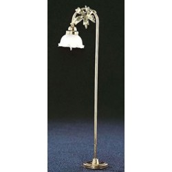 &MH762: FLUTED SHADE FLOOR LAMP