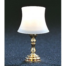 &MH757: BEVELED SHADE TABLE LAMP