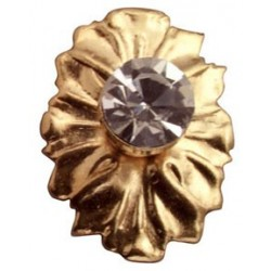 &HW1141: CRYSTAL MEDALLION KNOB