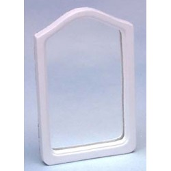 &AZT5551: FRAMED MIRROR,WHITE