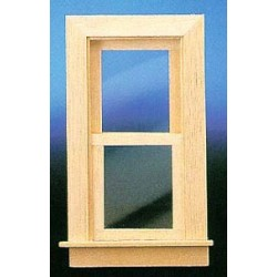 SMALL WORKING WINDOW W/TRIM