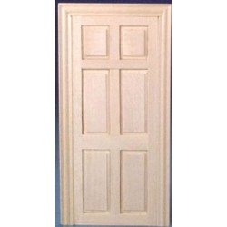 FALSE DOOR  sc 1 st  Superior Dollhouse Miniatures & Narrow Inside Door With Trim | Dollhouse Doors | Dollhouse Building ...