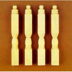 NEWEL POSTS, 4/PK