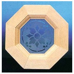 OCTAGON WINDOW WITH INSERT SLIM28