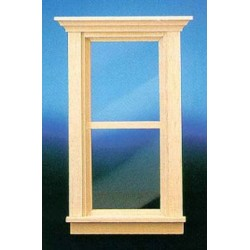 &HW5051: TRAD 2-PANE NON-WORKING WINDOW