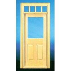 &HW6018: TRAD 2-PANEL DOOR W/WINDOW