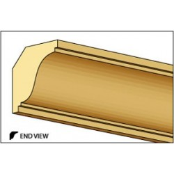 &HW7069: SMALL CROWN MOLDING, 1/4 X 24