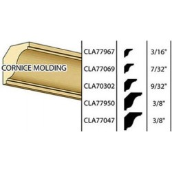 COB-8  1/2 CROWN CORNICE, 24L
