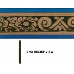 EMBOSSED TRIM: MORNING GLORY(647) 1-1/4