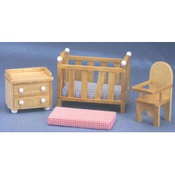 PLAYSTUF NURSERY SET/5, OAK