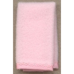 BABY BLANKET 1 PC PINK