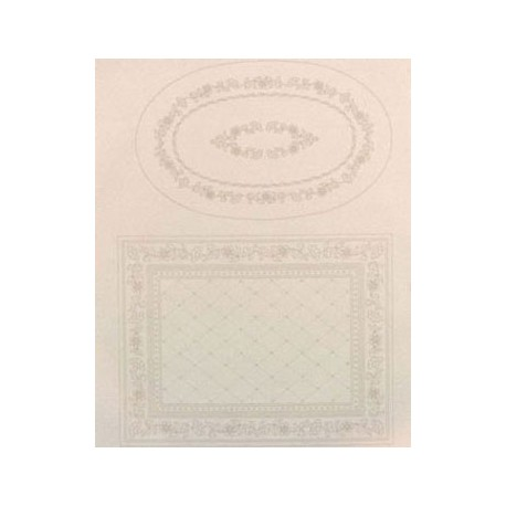 PRETTIPOINT RUG KIT-FLORAL DUET