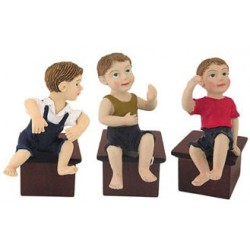 SITTING BOY DOLL ASSORTED