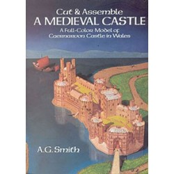 CUT & ASSEMBLE MEDIEVAL CASTLE