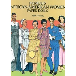 FAMOUS AFRICAN-AMERICAN WOMEN PAPER DOLL