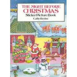 THE NIGHT BEFORE CHRISTMAS STICKER BOOK