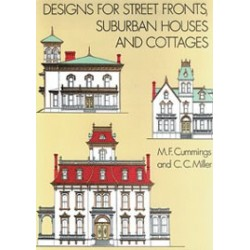 DESIGNS FOR STREET FRONTS, SUBURBAN HOUS