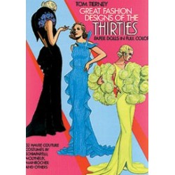 GREAT FASHION DESIGNS OF THE THIRTIES