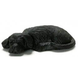 SLEEPING LABRADOR, BLACK