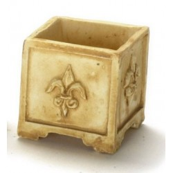 SQUARE PLANTER 6PCS TAN