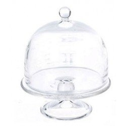 CAKE STAND 2/DOMED