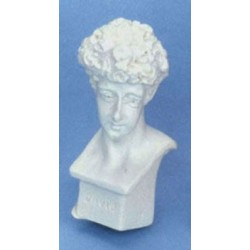 DAVID BUST 2 PC WHITE