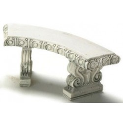 CURVED BENCH/2PCS/GRAY